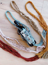 Load image into Gallery viewer, Live Virtual Macrame Wine Tote Workshop- 9/20