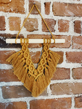 Load image into Gallery viewer, Macrame Fan Wall Hanging - Likewoah Handmade