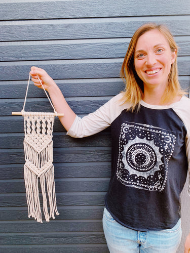 Fletcher Macrame Wall Hanging