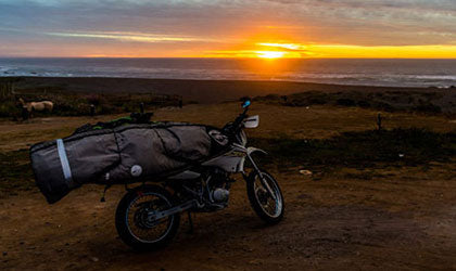 traveling from chile to ecuador on an xr 125
