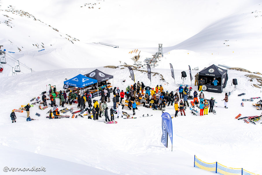 The 6th annual Volcom Banked Slalom at Kitzsteinhorn, 26-28 April 2019
