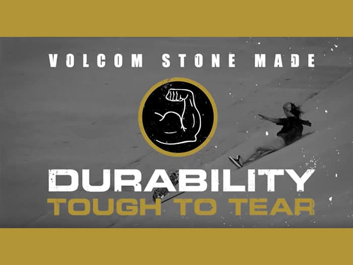 Volcom Stone Made Jeans And Chinos Are Durable And Tough To Tear