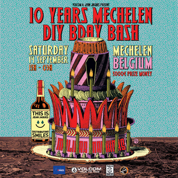 10 YEARS MECHELEN DIY BDAY BASH