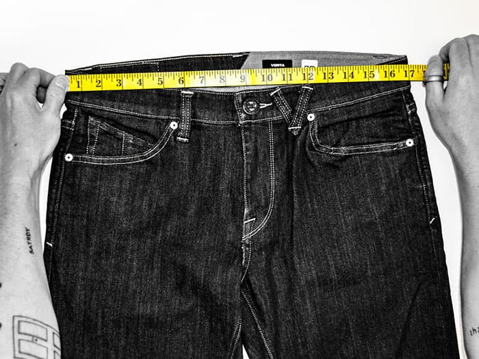 Volcom Men's Jeans Fit Guide and Size Charts
