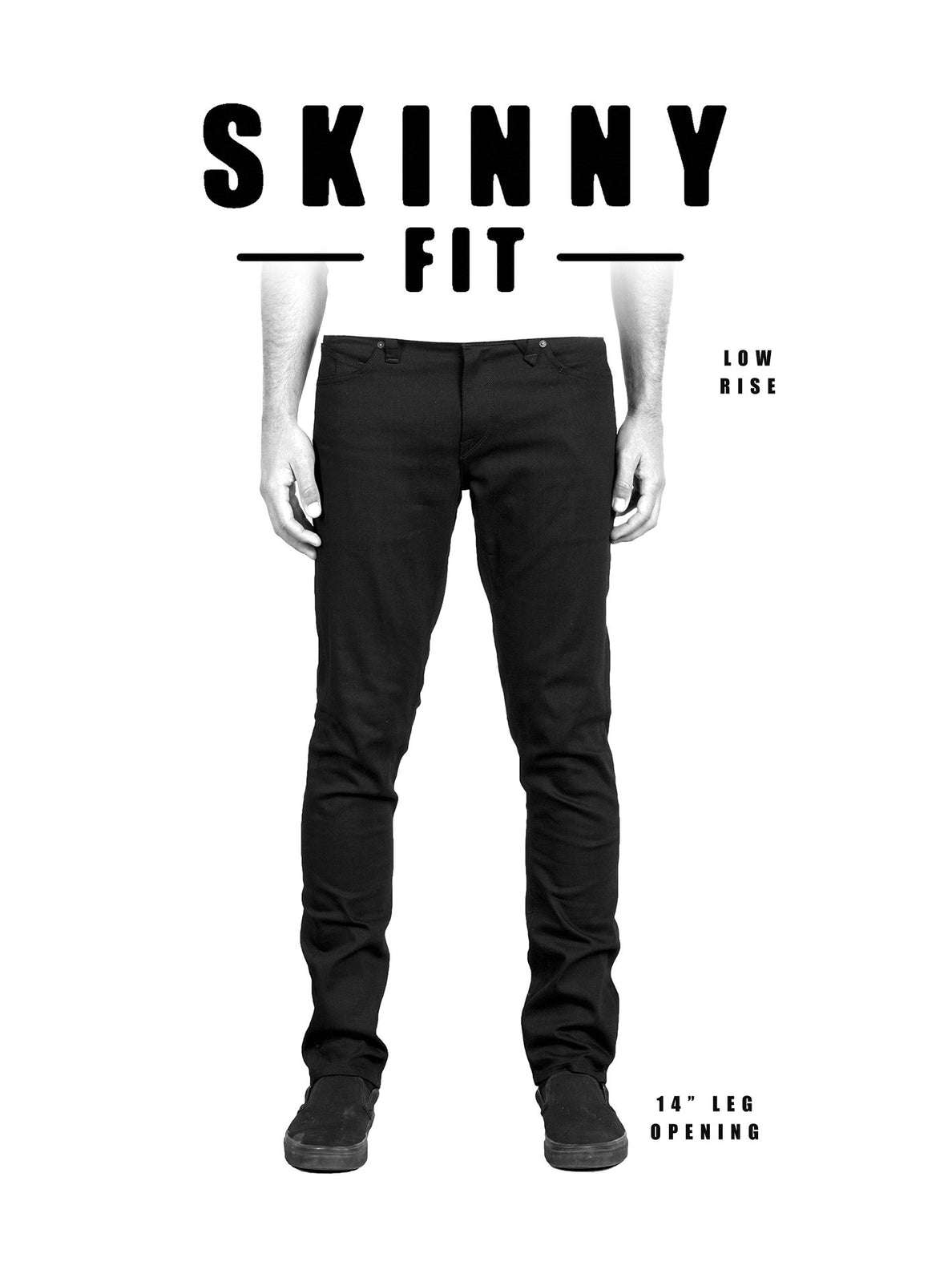 2X4 Skinny Fit Jeans - Allover Stone Light