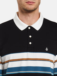 KIRKWALL POLO L/S (A0332001_BLK) [1]