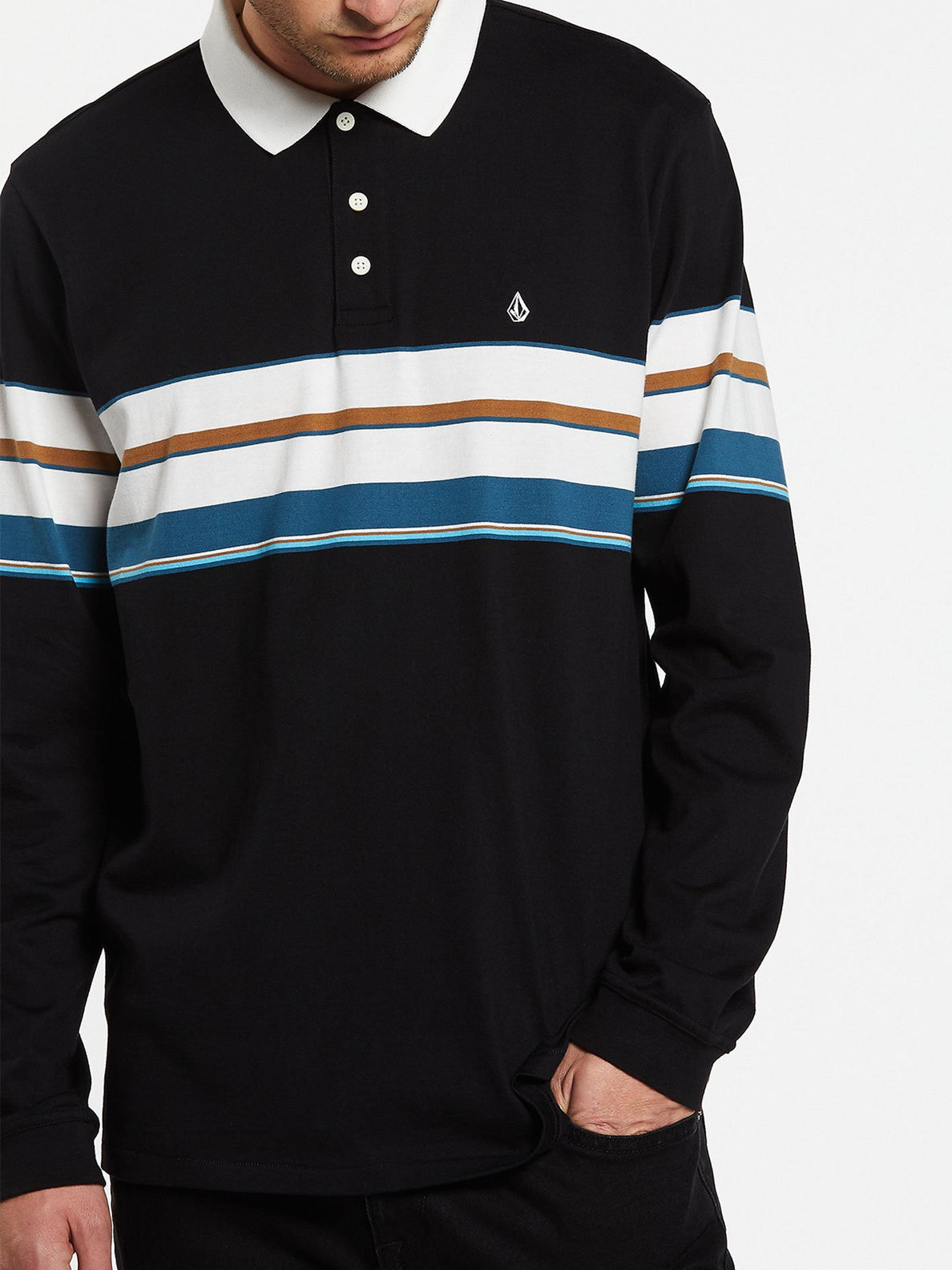 KIRKWALL POLO L/S (A0332001_BLK) [9]