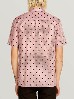 Crossed Up Shirt  - Light Mauve