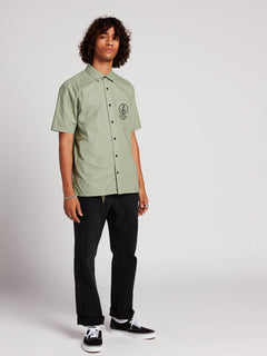 Crowd Control Shirt  - Dusty Green