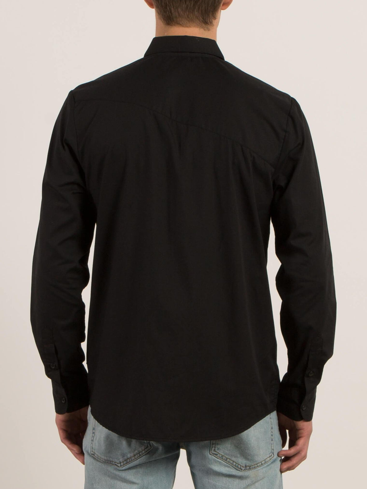 Everett Solid Shirt - Black