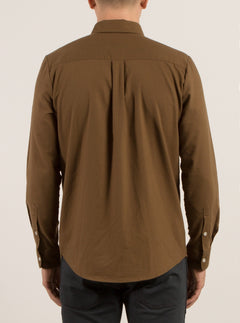 Oxford Stretch Shirt - Mud