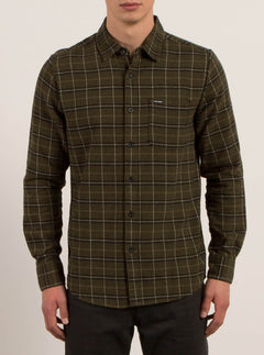 Brodus Long Sleeve Flannel - Military