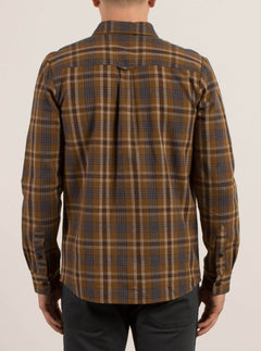 Marcos Long Sleeve Flannel - Mud