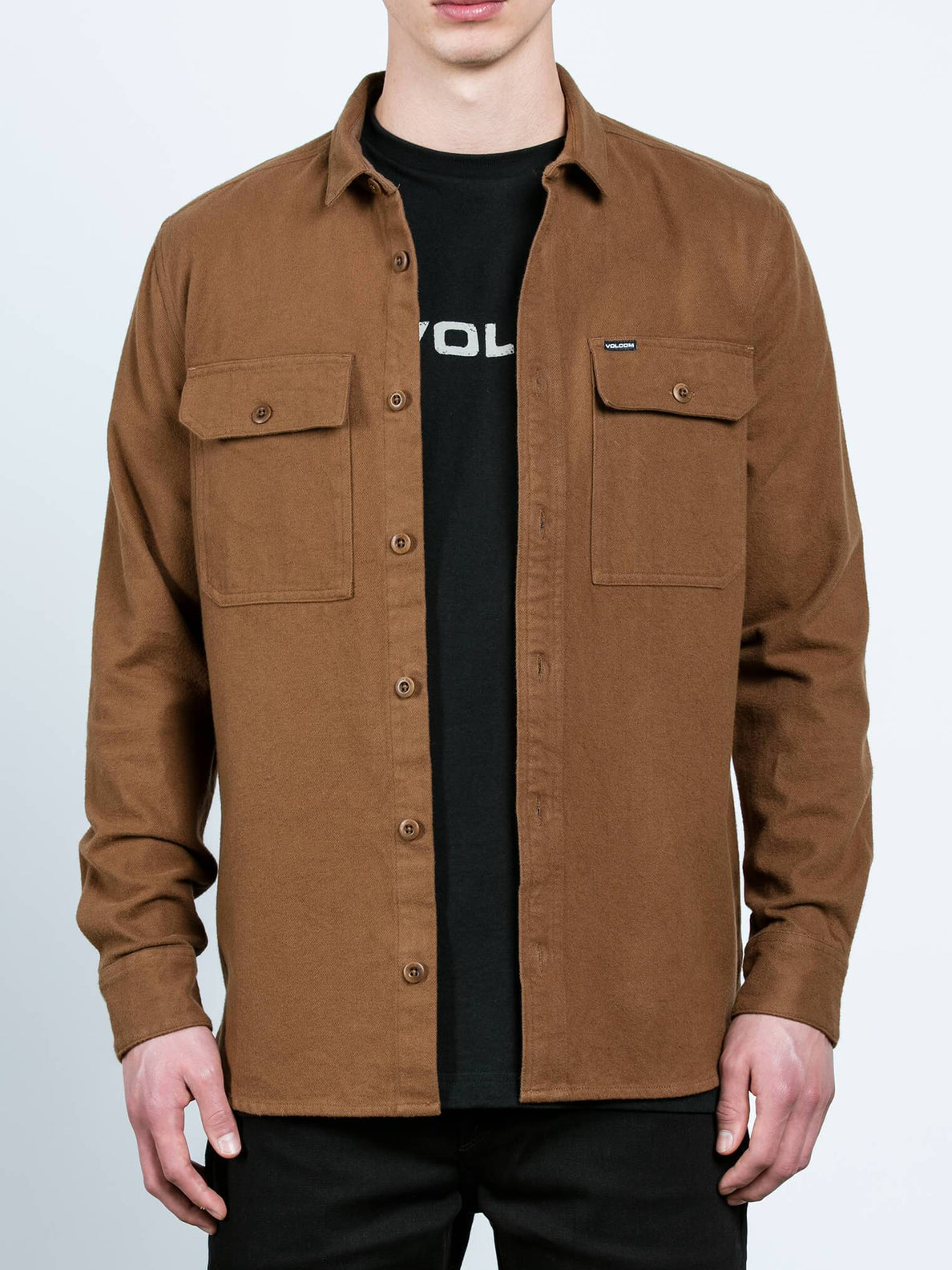 Ketil Long Sleeve Shirt - Mud