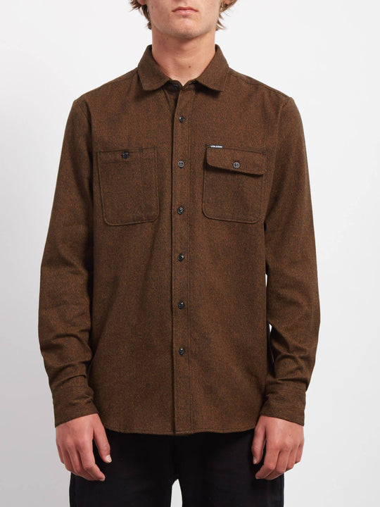 Hickson Update Shirt - Hazelnut