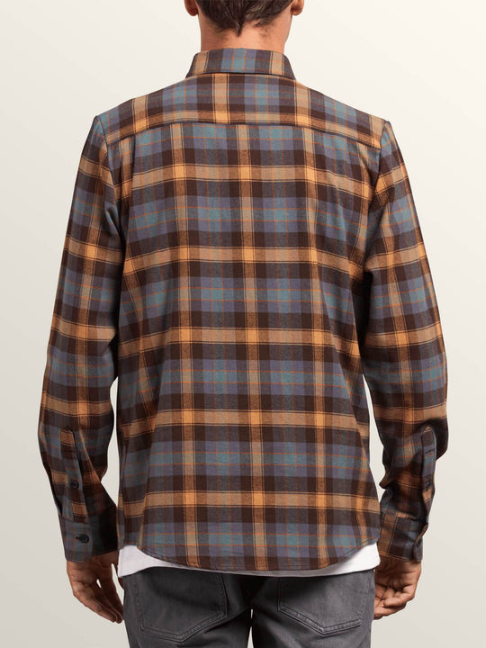 Caden Plaid Shirt - Espresso