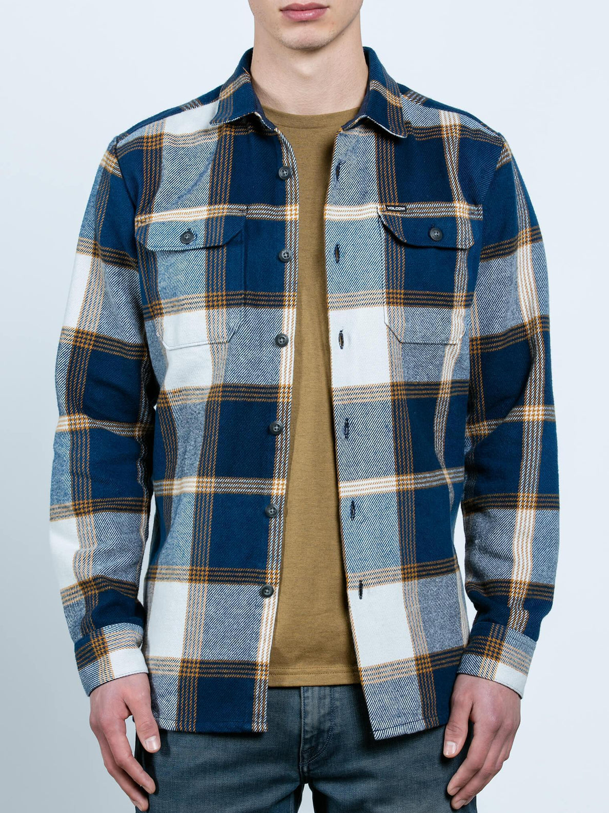 Heavy Daze Long Sleeve Shirt - Indigo