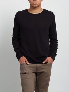 Harweird Crew Sweater - Black