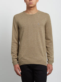 Uperstand Pullover - Sand Brown