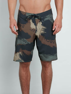 Lido Solid Mod Boardshorts - Military