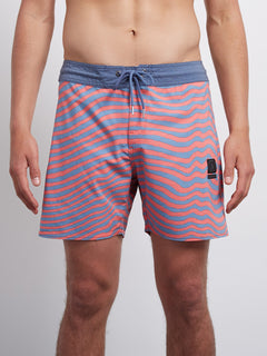 Mag Vibes Stoney 16 Boardshort - Scream Red