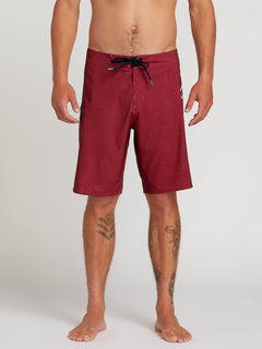 "Deadly Stones 20"" Boardshort  - Burgundy"