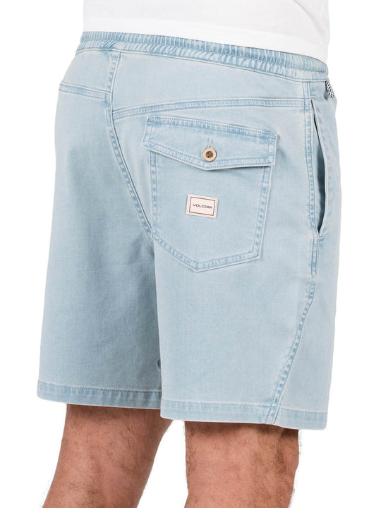 Flare Shorts - Cloud Blue