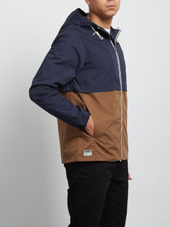 Howard Hooded Jacket - Navy