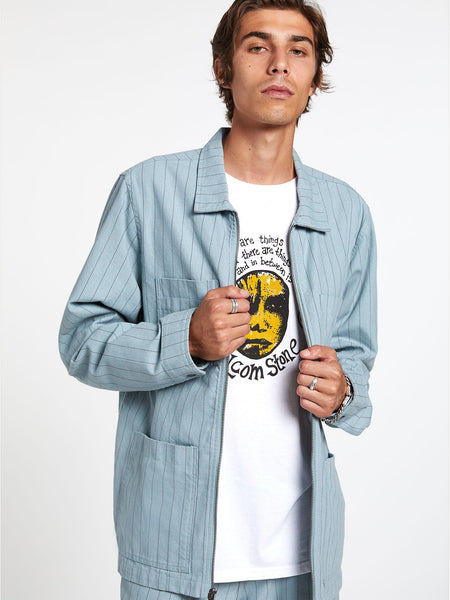 CJ Collins Chore Jacket - Cool Blue