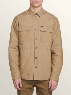 Larkin Quilted - Sand Brown