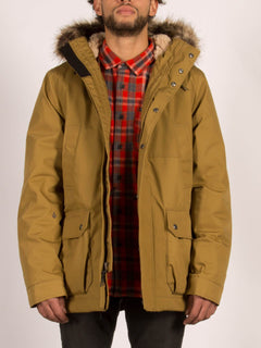 Lidward Jacket - Burnt Khaki