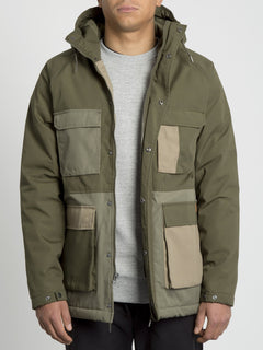 Renton Winter 5K Jacket - Army Green Combo (A1731907_ARC) [2]