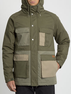 Renton Winter 5K Jacket - Army Green Combo (A1731907_ARC) [5]