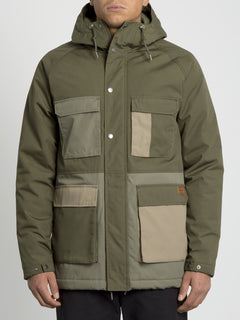 Renton Winter 5K Jacket - Army Green Combo (A1731907_ARC) [F]