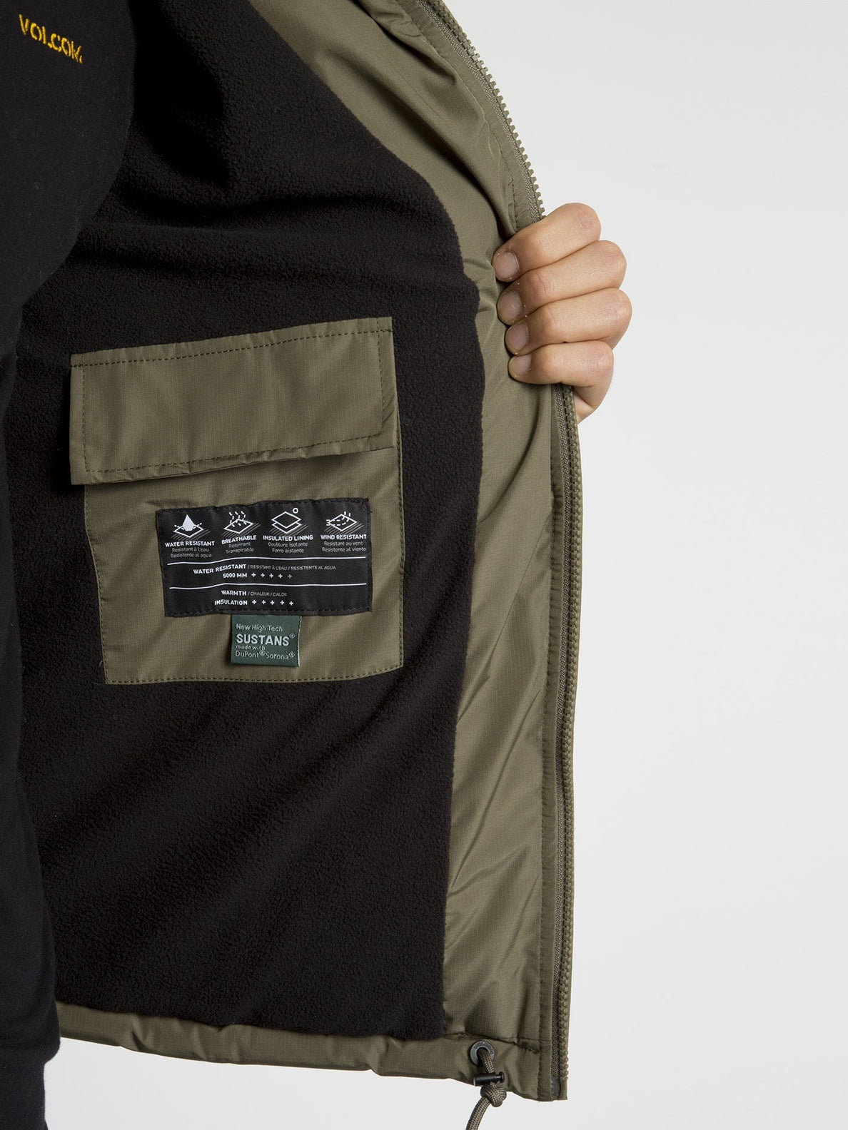 Artic Loon 5K Jacket - Army Green Combo (A1731914_ARC) [10]