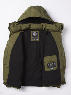 Artic Loon 5K Jacket - Army Green Combo (A1731914_ARC) [11]