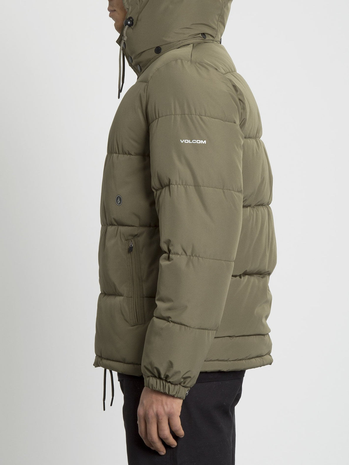 Artic Loon 5K Jacket - Army Green Combo (A1731914_ARC) [1]