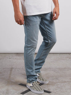 Vorta Slim Fit Jeans - Allover Stone Light