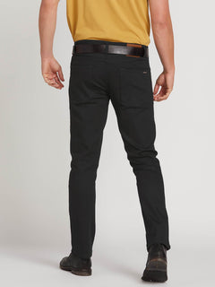 Vorta Slim Fit Jeans - Black On Black (A1931501_BKB) [2]