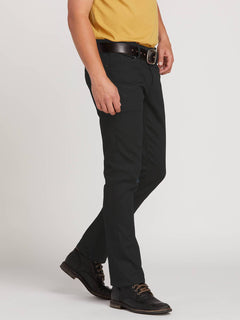 Vorta Slim Fit Jeans - Black On Black (A1931501_BKB) [3]