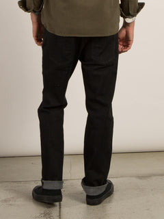 Kinkade Regular Fit Jeans - Black Rinser
