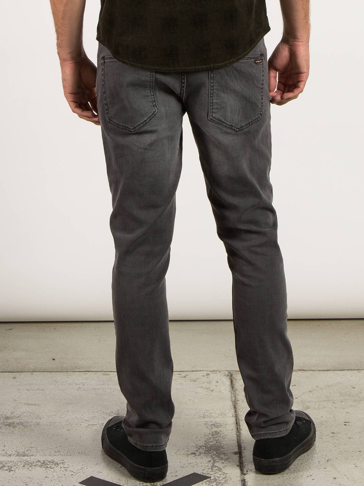 2X4 Skinny Fit Jeans - Cool Grey