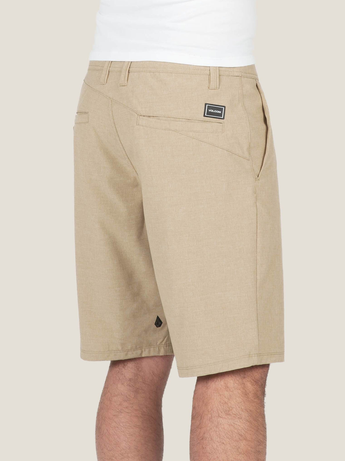 Surf N' Turf Frickin Static Hybrid Shorts - Dark Khaki