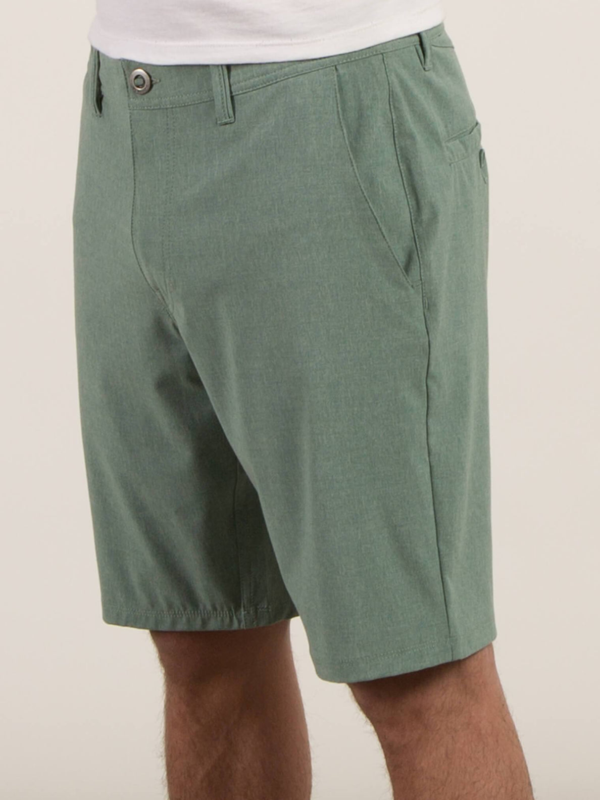 Surf N' Turf Frickin Static Hybrid Shorts - Sea Green