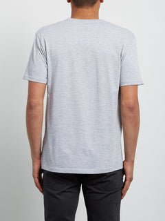 Crisp Euro Tee - Heather Grey