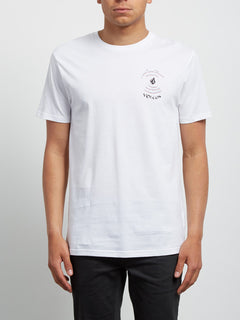Comes Around Tee - White