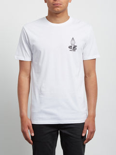 Digital Poison Short Sleeve - White