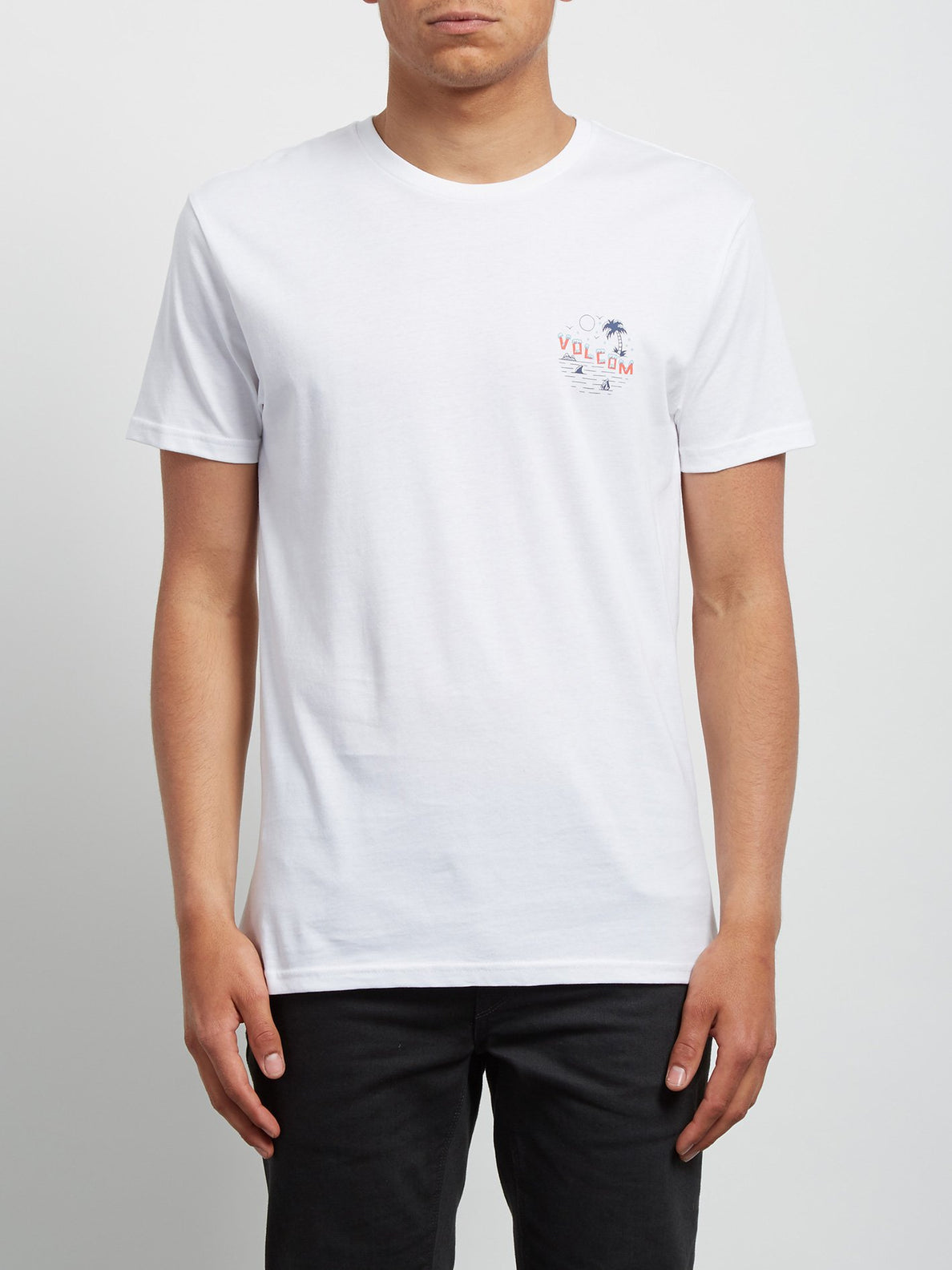 Fridazed Short Sleeve Tee - White