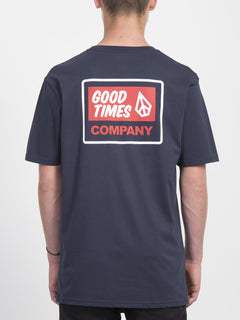 Volcom Is Good T-shirt  - Navy