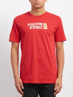 Stence T-shirt - Engine Red
